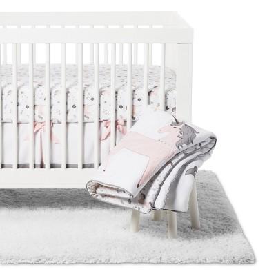 Sweet Jojo Designs Unicorn 11 pc Crib Bedding Set