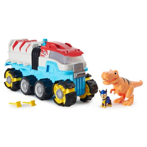 PAW Patrol Dino Rescue Dino Patroller Motorized Team Vehicle with Exclusive Chase and T-Rex Figures - image 1 of 4