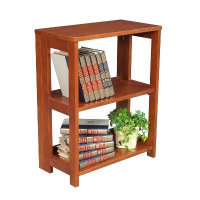 """28"""" Cakewalk Folding Bookcase - Regency"""