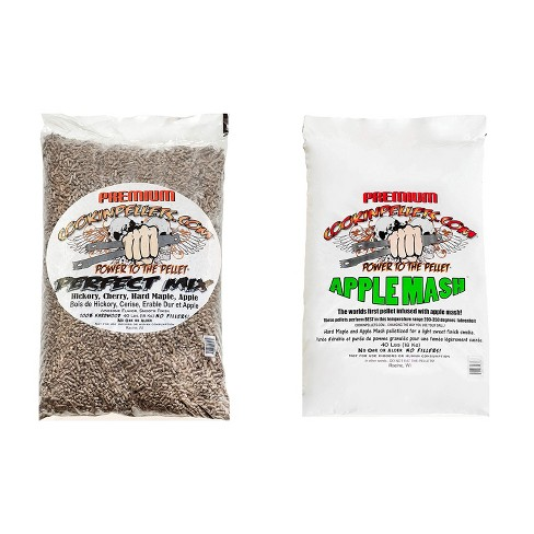 CookinPellets Perfect Mix Wood Pellets and Apple Mash Wood Pellets, 40 Lb Bags - image 1 of 4