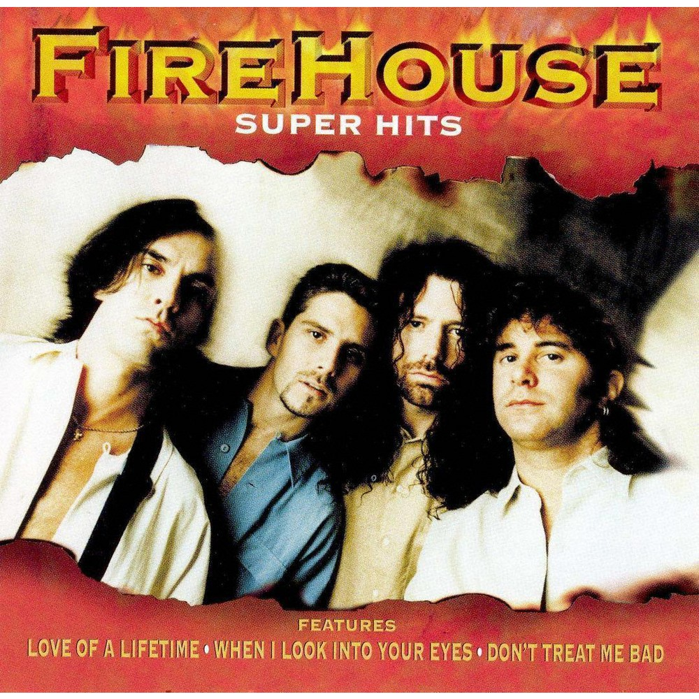 Firehouse - Super Hits:Firehouse (CD)