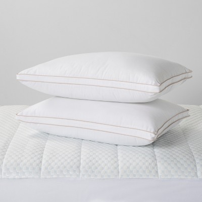 Standard 2pk Firm Bed Pillow - Made By Design™