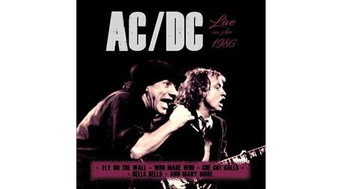 Ac & Dc - Live On Air 1986 (CD) - image 1 of 1