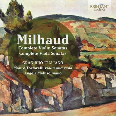 Gran Duo Italiano - Milhaud:Complete Violin Sons & Comple (CD) - image 1 of 1