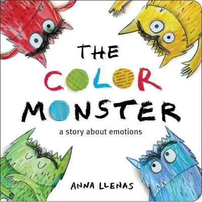 The Color Monster - by Anna Llenas (Board Book)