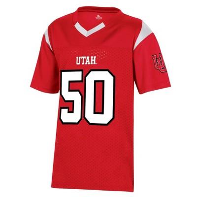 NCAA Utah Utes Boys' Short Sleeve Jersey