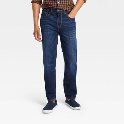 Men's Slim Straight Jeans - Goodfellow & Co™ Dark Denim Wash
