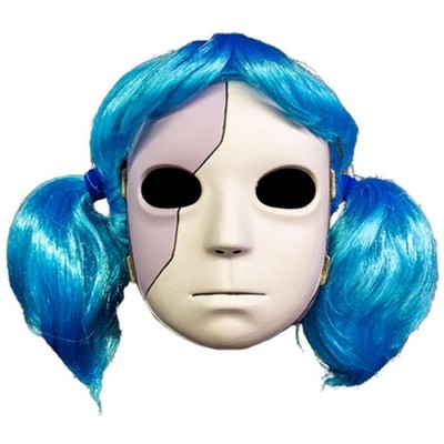 Trick Or Treat Studios Sally Face Mask and Wig Adult Costume Combo