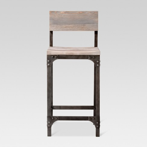 Franklin Low Back 24 Counter Stool Threshold Target