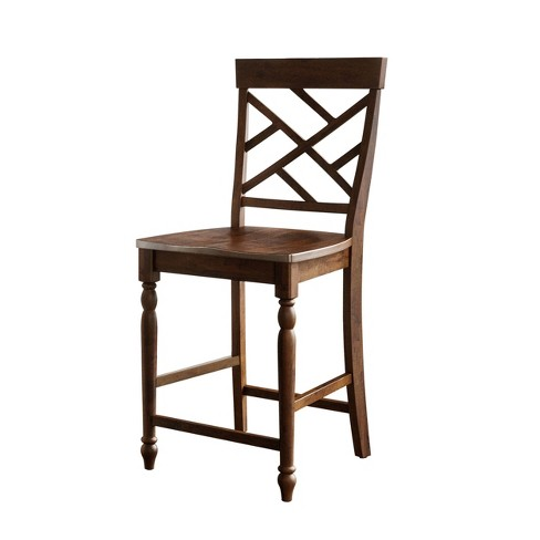 Westport Set of 2 Bar Stool Brown - Abbyson Living - image 1 of 2