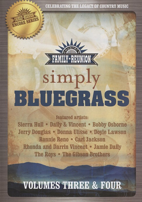 Simply bluegrass:Vol 3 & 4 (DVD) - image 1 of 1