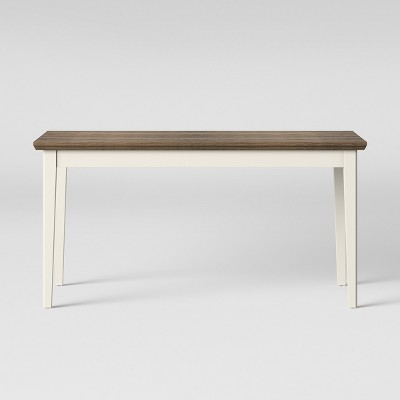 Baden Painted & Wood Dining Table Cream - Threshold™