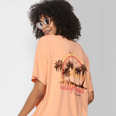Women's Short Sleeve Oversized T-Shirt - Wild Fable™