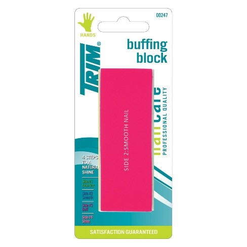 Trim Nail Care 4-Step Color-Coded Buffing Block - image 1 of 1