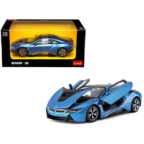 Bmw I8 Blue 1 24 Diecast Model Car By Rastar Target