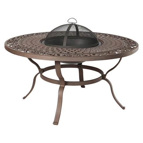 "Florence 47.5"" Wood Burning Fire Table - Round - Real Flame - image 1 of 4"