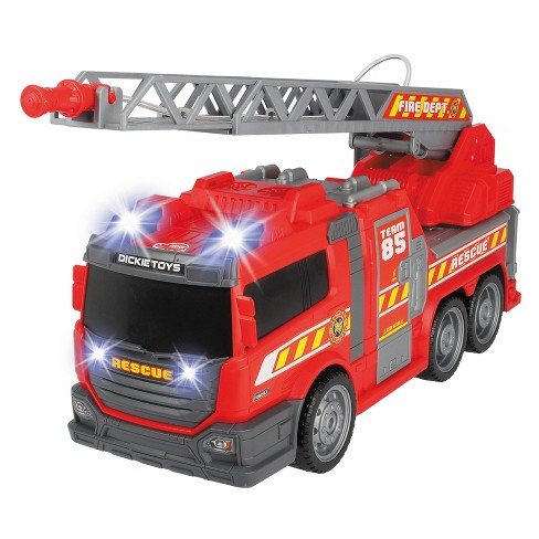 Dickie Toys - Large Action Fire Fighter Vehicle - image 1 of 8