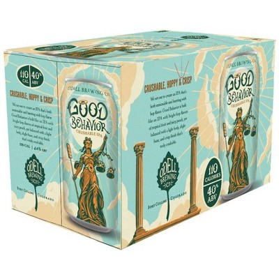 Odell Brewing Good Behavior Crushable IPA Beer - 6pk/12 fl oz Cans