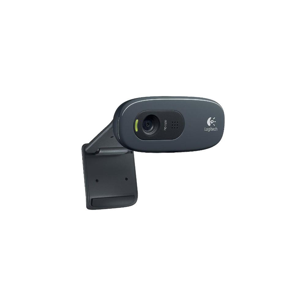 Logitech C270 3 0mp Webcam Black 960 000694
