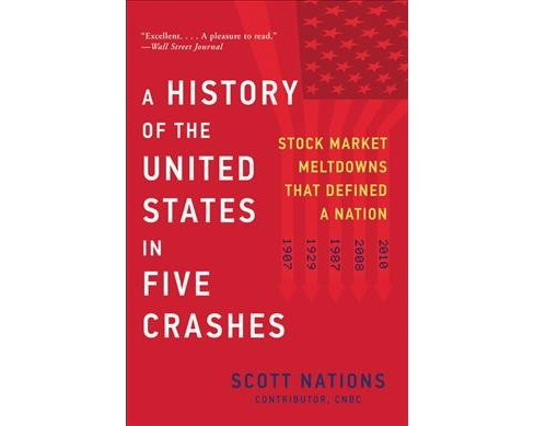 History of the United States in Five Crashes : Stock Market Meltdowns That Defined a Nation - Reprint - image 1 of 1
