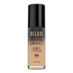Milani Conceal + Perfect 2-in-1 Foundation + Concealer - 1 fl oz