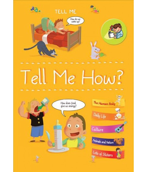 Tell Me How? -  (Tell Me) by Isabelle Fougre (Hardcover) - image 1 of 1