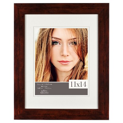 "11"" x 14"" Frame Walnut - Gallery Solutions"
