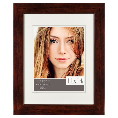 "11"" x 14"" Frame Walnut - Gallery Solutions - image 1 of 4"