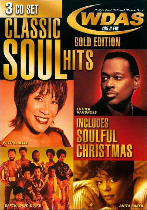 Various - Classic soul hits gold edition (CD) - image 1 of 1