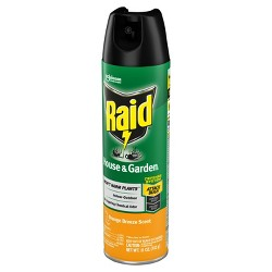 Raid House & Garden - 11oz - 1ct