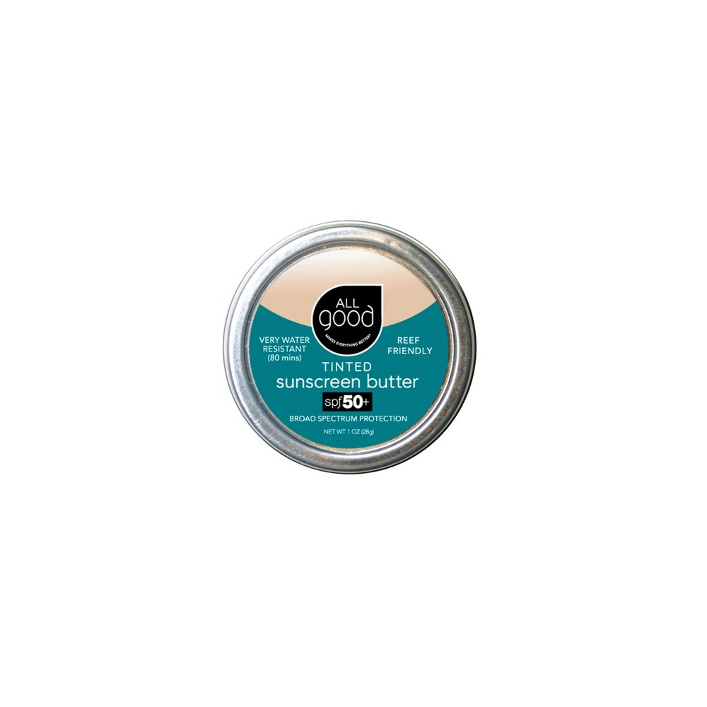 Image of All Good Tinted Sunscreen Butter - SPF 50 - 1oz