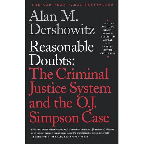 Reasonable Doubts - by  Alan M Dershowitz (Paperback) - image 1 of 1