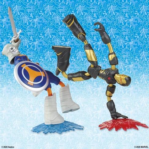 Marvel Avengers Bend and Flex - Taskmaster vs Iron Man and Captain America - image 1 of 4