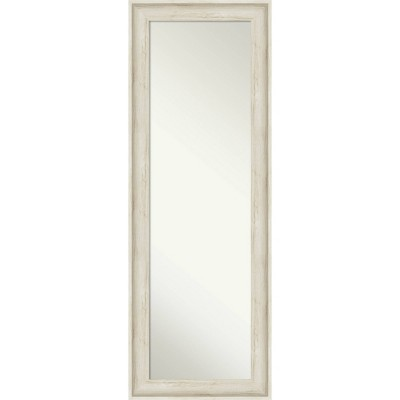 "19"" x 53"" Regis Framed Full Length on the Door Mirror - Amanti Art"