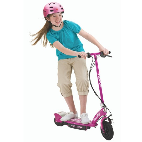 Razor E100 Rear Wheel Drive Electric Powered Scooter - Sweet Pea image number null