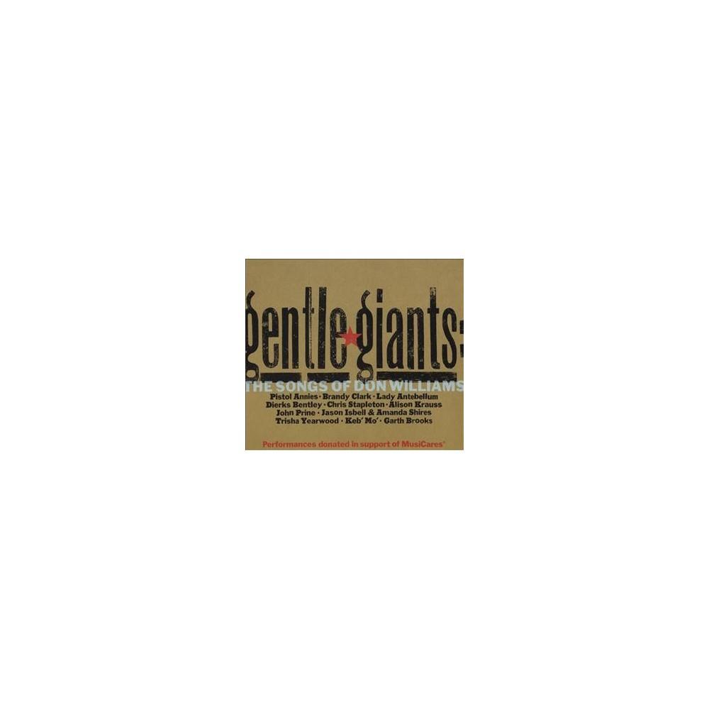Various - Gentle Giants:Songs Of Don Williams (CD)