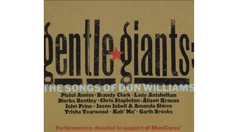 Various - Gentle Giants:Songs Of Don Williams (CD) - image 1 of 1