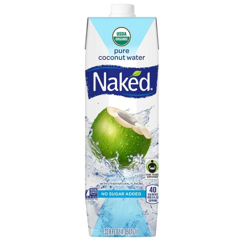 Naked Juice Coconut Water - 33.8oz - image 1 of 1