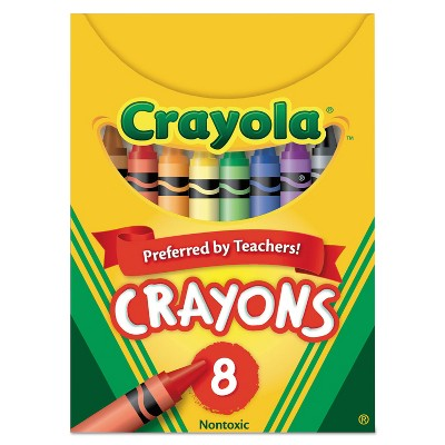 Crayola Classic Color Pack Crayons Tuck Box 8 Colors/Box 520008