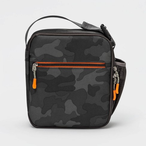 Lunch Bag Gray Camo - Cat & Jack™ - image 1 of 3