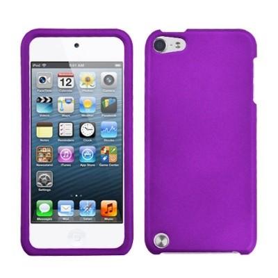 MYBAT For Apple iPod Touch 5th Gen/6th Gen Purple Hard Rubber Case