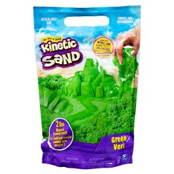 Kinetic Sand 2lb Green Kinetic Sand for Mixing Molding and Creating
