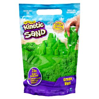 Kinetic Sand 2lb Green Kinetic Sand for Mixing Molding and Creating