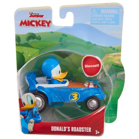 Mickey Mouse Die Cast Toy Vehicles - Donald's Roadster - image 1 of 2