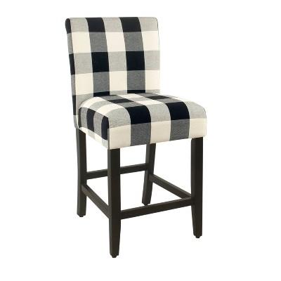 """24"""" Upholstered Counter Height Barstool - HomePop"""