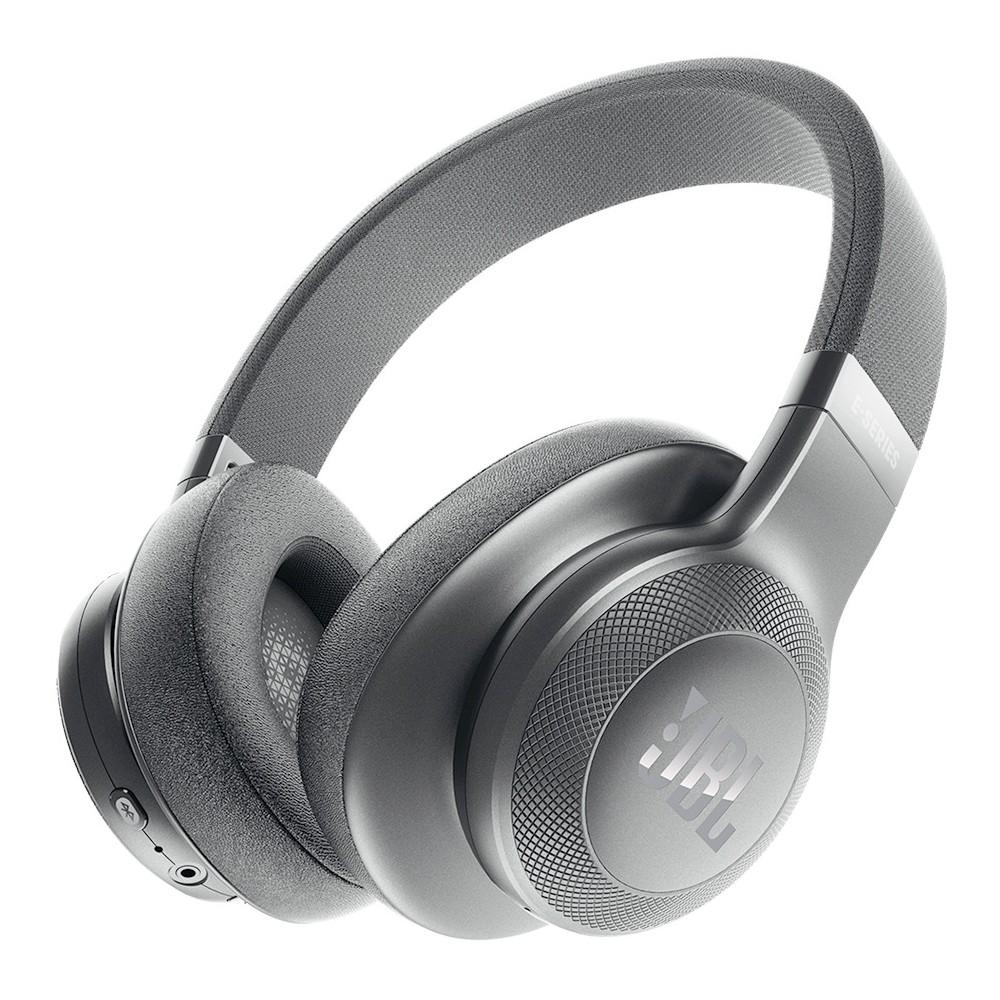 JBL Wireless Around-Ear Headphones (E55BT) - Black