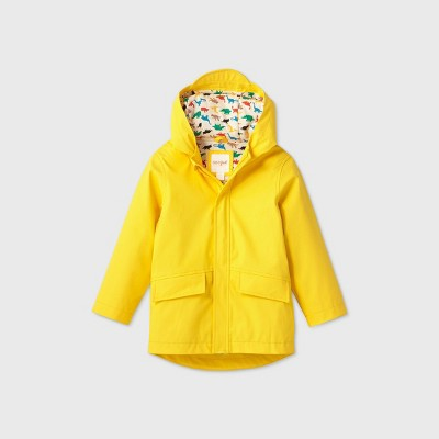 Toddler Boys' Rain Jacket - Cat & Jack™ Yellow 5T