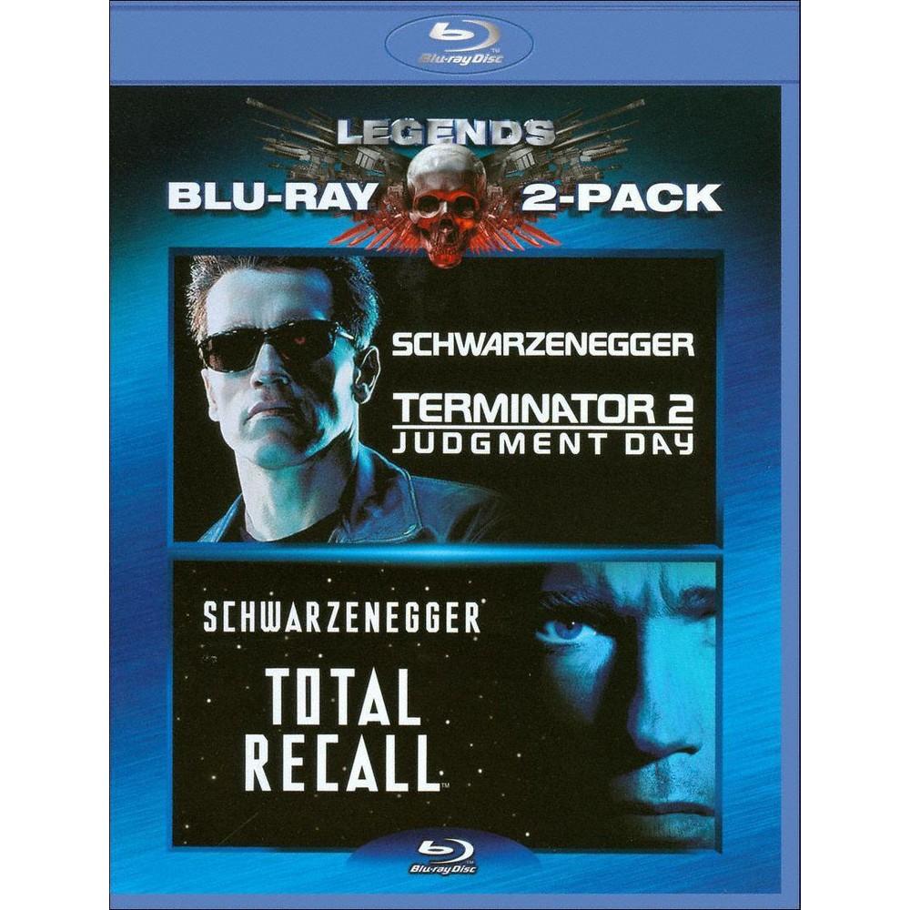 Total Recall Terminator Judgment Day Blu Ray