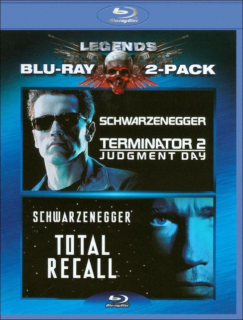 Terminator 2: Judgement Day/Total Recall [2 Discs] [Blu-ray] - image 1 of 1