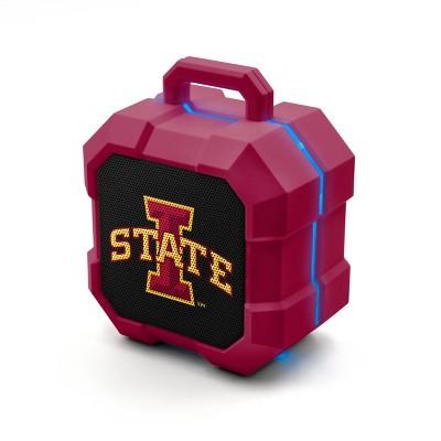NCAA Iowa State Cyclones LED Shock Box Bluetooth Speaker
